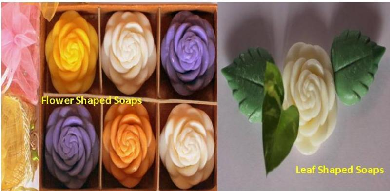 Blossom shaped Soaps