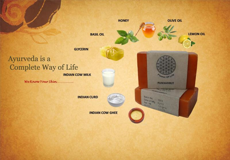 Flower of Life - Panchamrut Soap
