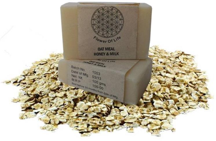 Natural Honey Oatmeal Soap
