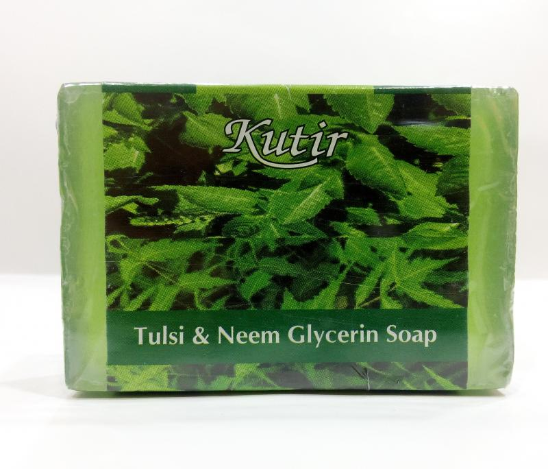 Neem and Tulsi Glycerin Soap