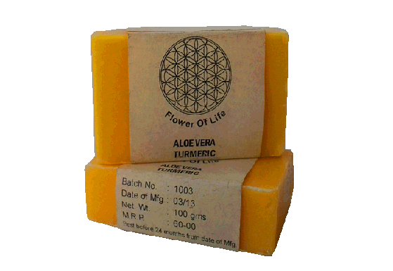 Flower of Life - Natural Ayurvedic Turmeric Soap