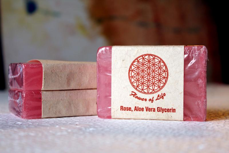 Rose Glycerine soap